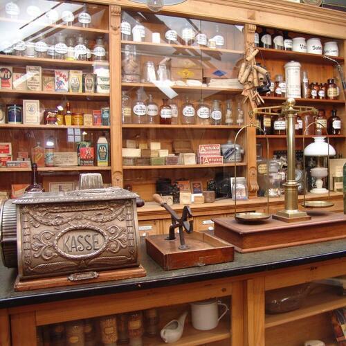 Kaufladen im Museum