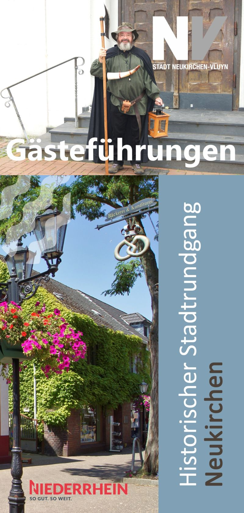 Flyer Stadtrundgang Neukirchen